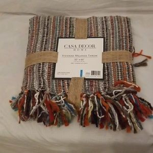 Casa Decor Multi Color Throw